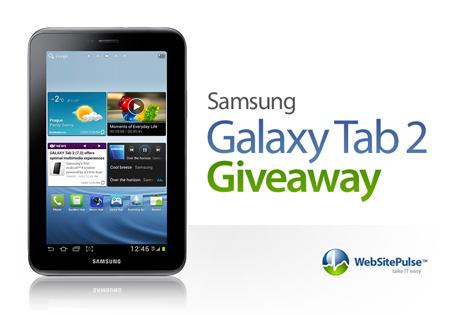 Samsung Galaxy Tab 2 Giveaway