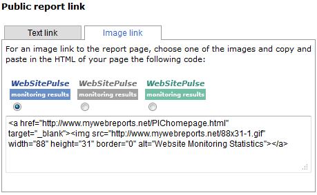 Public report image link