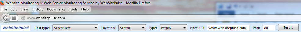 Mozilla test tools toolbar