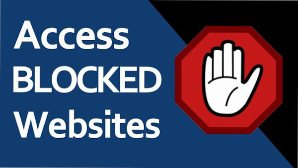 Access denied to a website