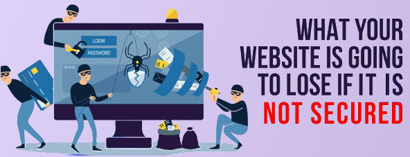 What would not secured website lose