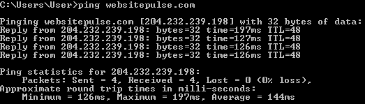 PING, Trace Route and MTR Explained by WebSitePulse