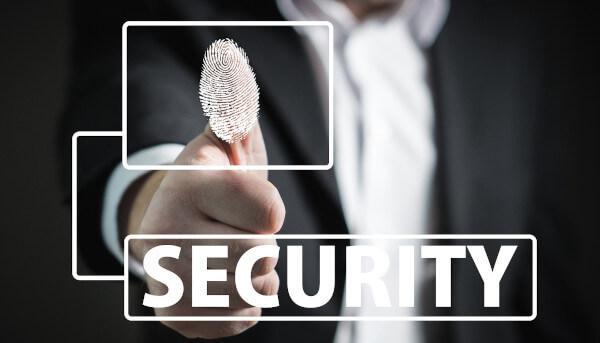 secure login information